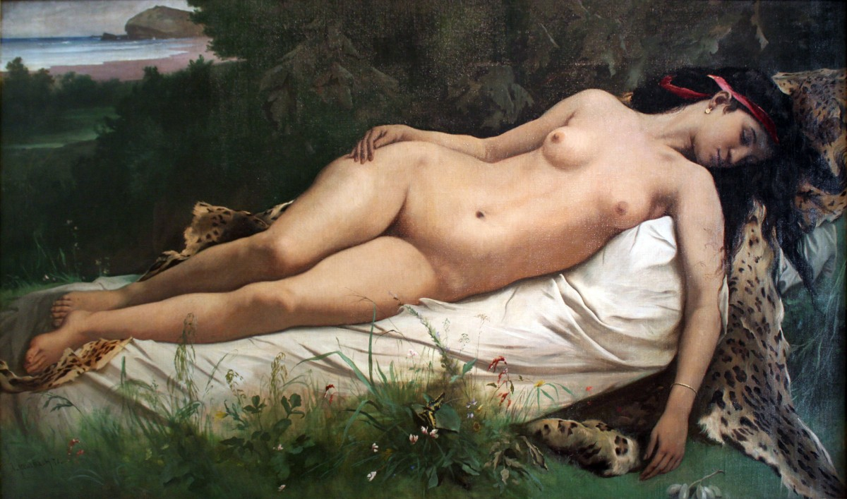 1870_Feuerbach_Ruhende_Nymphe_anagoria