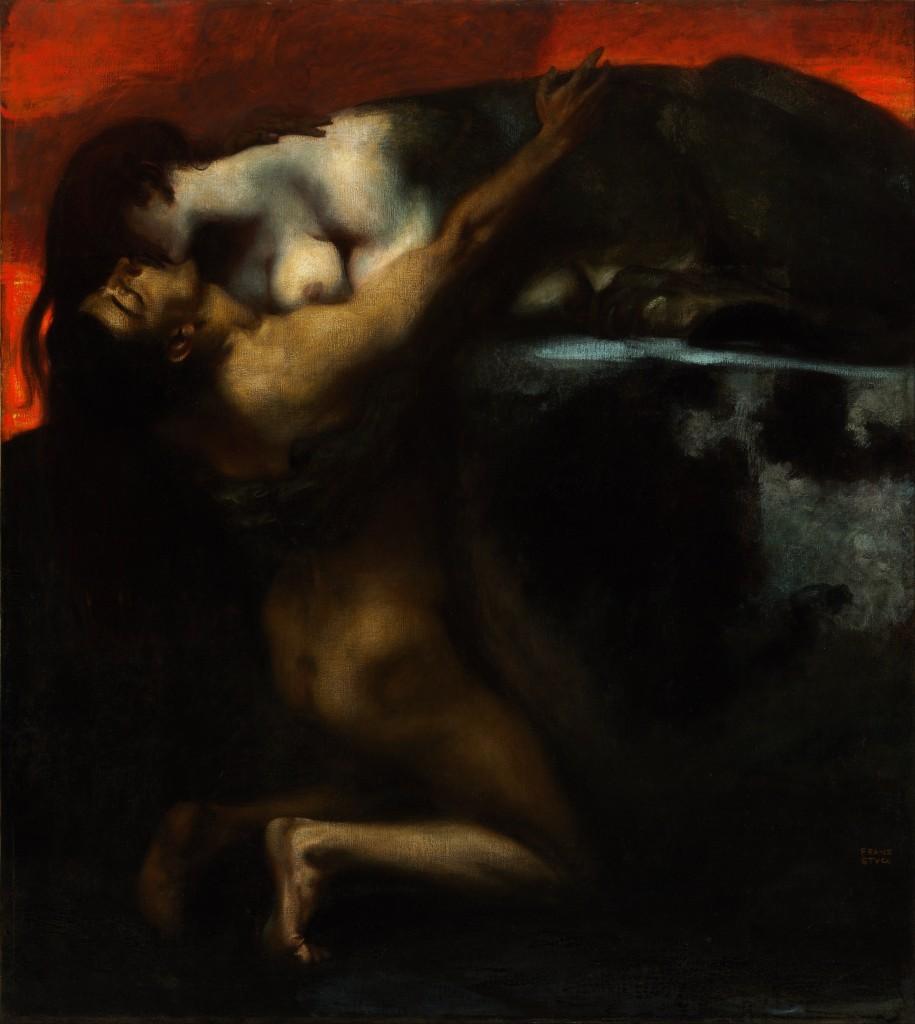 Franz_von_Stuck_-_The_Kiss_of_the_Sphinx_-_Google_Art_Project