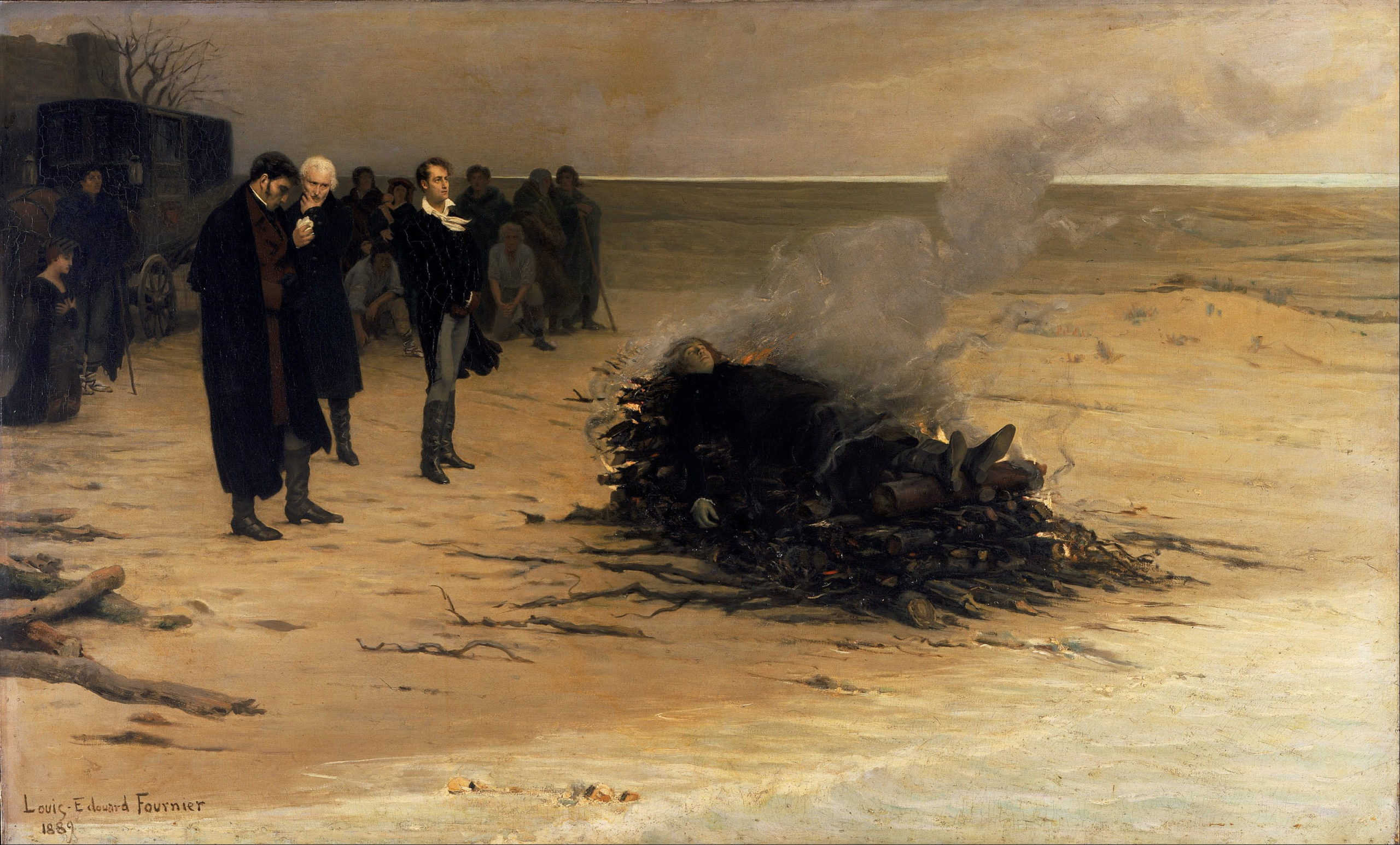 L'Enterrement de Shelley (1889)